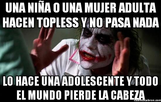 Joker - La incoherencia del topless