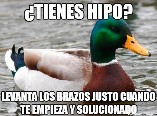 Pato_consejero - ¿Tienes hipo?