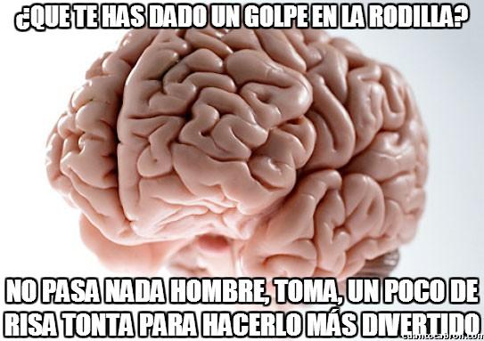 Cerebro_troll - Y ésta es la explicación de lo que la gente llama ''huesos de la risa''