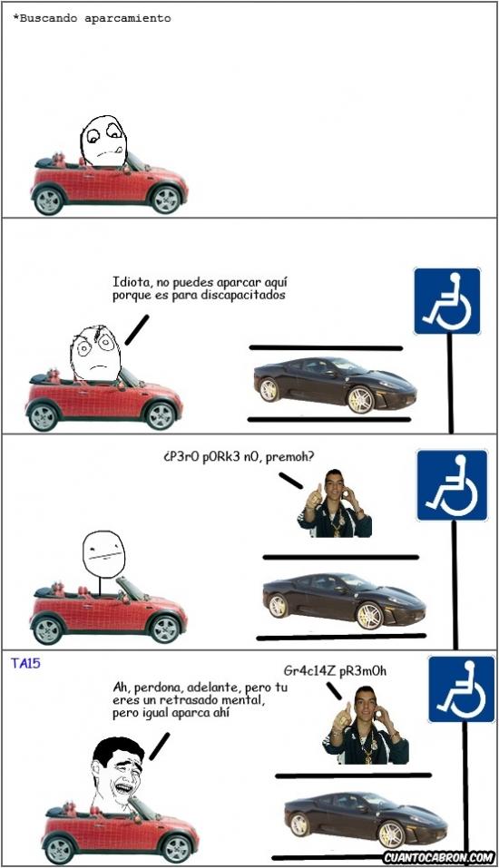Yao - Los canis lo tienen fácil a la hora de aparcar