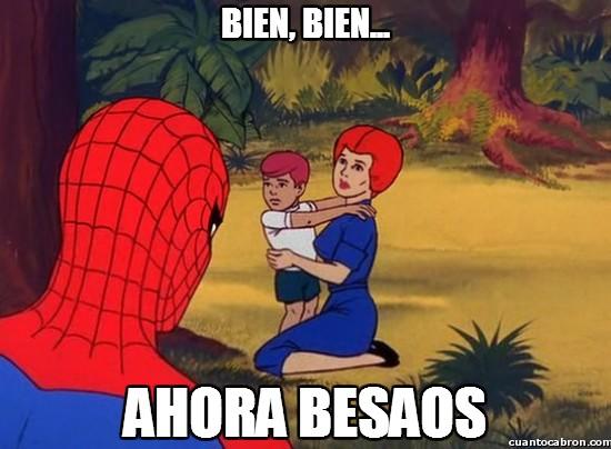 Spiderman60s - Spiderman estás mal de la cabeza