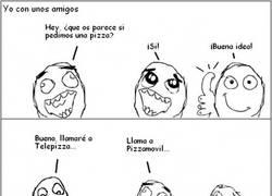 Enlace a Cada uno tiene sus preferencias con las pizzas
