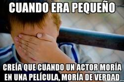 Enlace a ¡Oh no, ha muerto mi actor favorito!