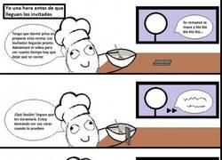 Enlace a Igual te pensabas que cocinar elaboradamente era cuestión de minutos...