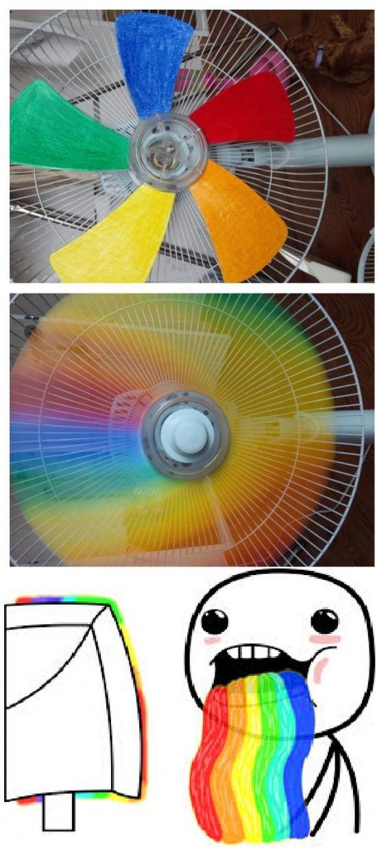 Puke_rainbows - Seguro que ahora ya no te importa tener ventilador en vez de aire acondicionado
