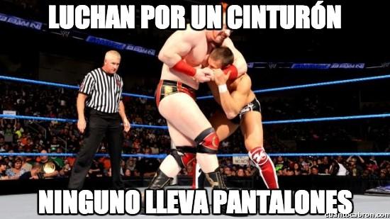 Meme_otros - Luchan por un cinturón