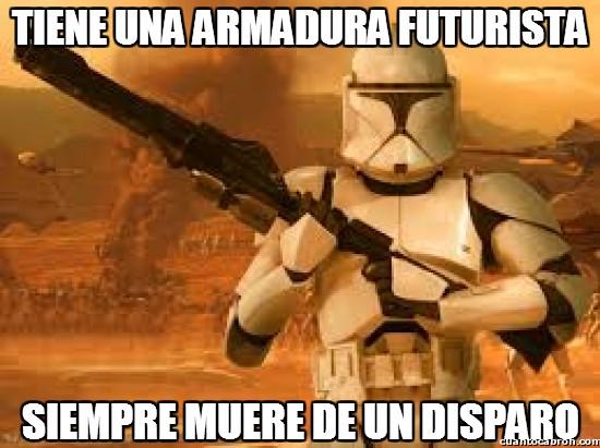 Meme_otros - Tiene una armadura futurista