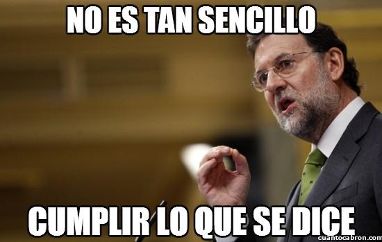 Boromir - Para Rajoy no es tan sencillo