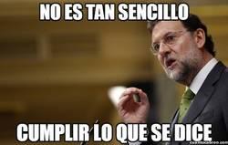 Enlace a Para Rajoy no es tan sencillo