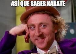 Enlace a Así que sabes karate