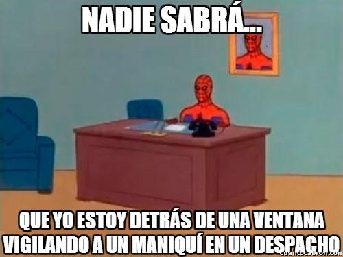Spiderman60s - Nadie sabrá...