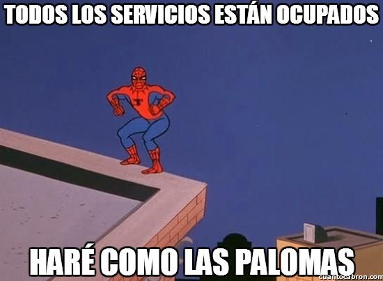 Spiderman60s - Todos los servicios están ocupados