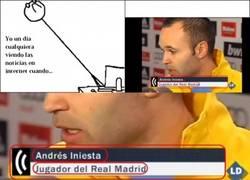 Enlace a Ahora iniesta es del Madrid