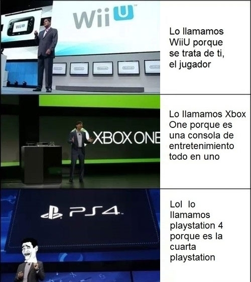 consolas,Microsoft,Nintendo,PS4,Sony,videojuegos,Wii U,Xbox One