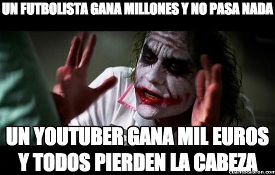 dinero,Futbolista,internet,Millones,Youtuber