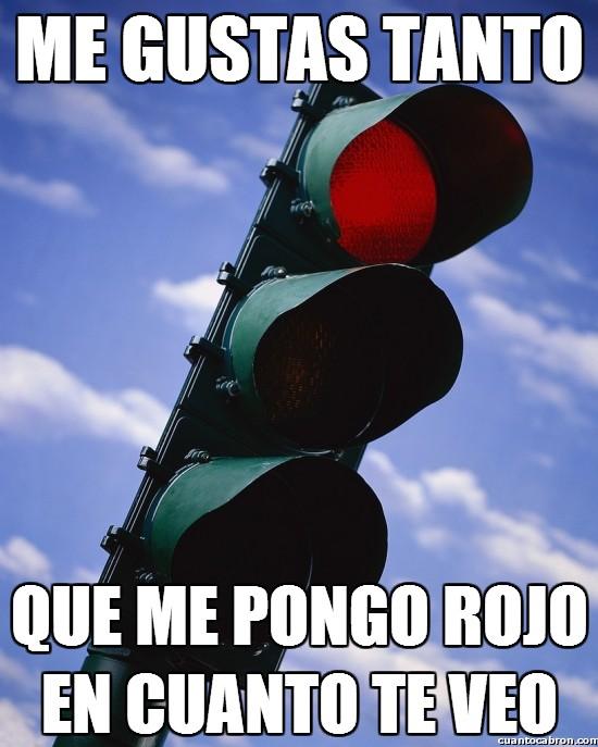 rojo,semáforo,troll