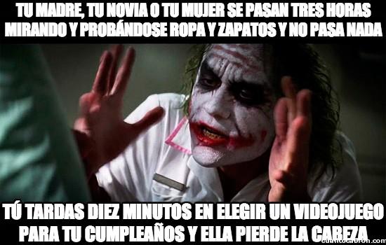 Joker - Dejadme mi tiempo
