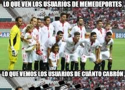 Enlace a Feel like a sir del Sevilla FC