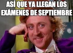 Enlace a Así que ya llegan los exámenes de septiembre