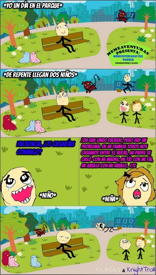 Kidding_me - Memeaventuras presenta: Memecotidianas del Parque