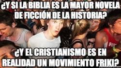 Enlace a ¿Y si la Biblia es la mayor novela de ficción de la historia?