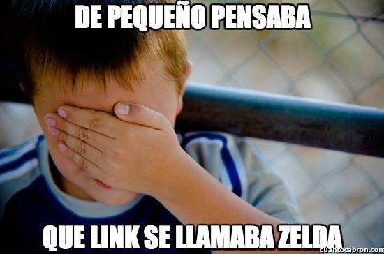 Confession_kid - El error que todos cometíamos sobre Zelda