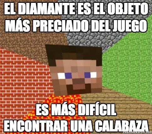 calabaza,Diamante,minecraft