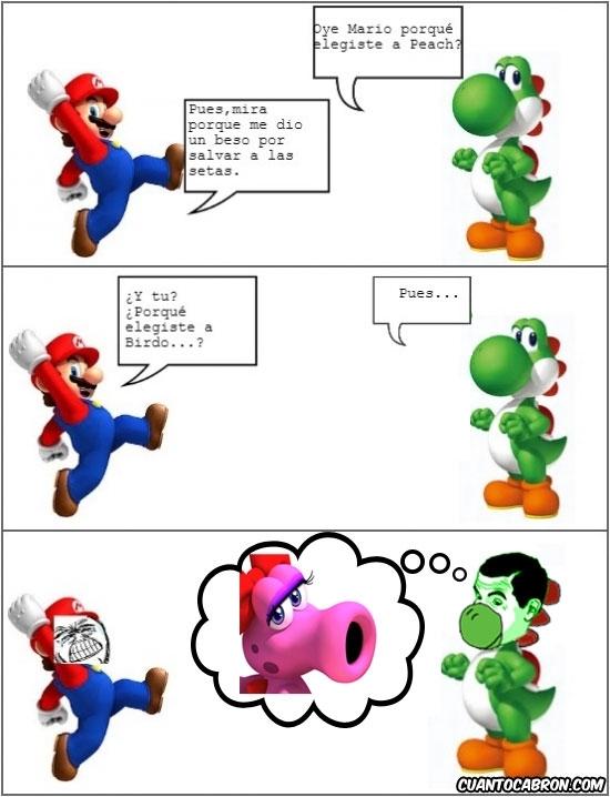 birdo,boca,if you know what I mean,mario,nintendo,videojuegos,yoshi