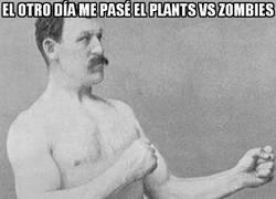 Enlace a Me he pasado el Plants vs. Zombies