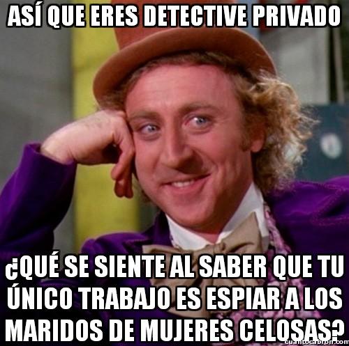 Wonka - Así que eres detective privado