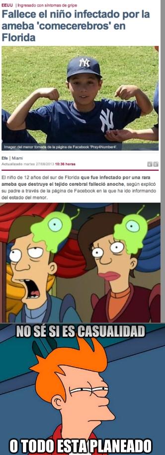 Meme_fry - Parece que Futurama también puede predecir el futuro