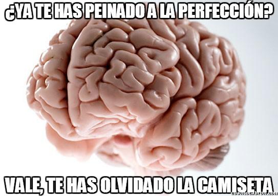 Cerebro_troll - ¿Ya te has peinado a la perfección?
