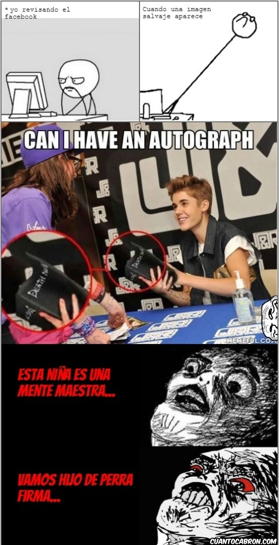Inglip - Justin... ¿me firmas un autógrafo?