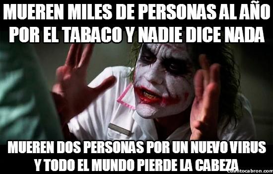 Joker - Causas de muerte que todos tenemos aceptadas y asumidas