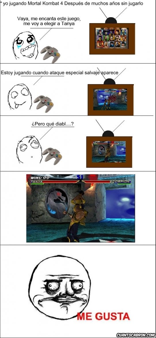 Me_gusta - Mortal Kombat Me Gusta