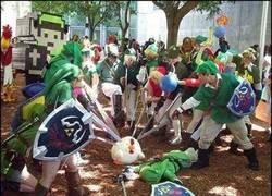 Enlace a Tarde o temprano, la venganza de Link contra las gallinas tenía que llegar