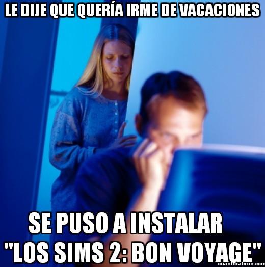 Marido_internet - Las vacaciones a su manera