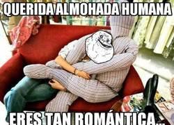 Enlace a Querida almohada humana