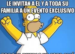 Enlace a El pueblo de Springfield siempre va dónde vaya Homer