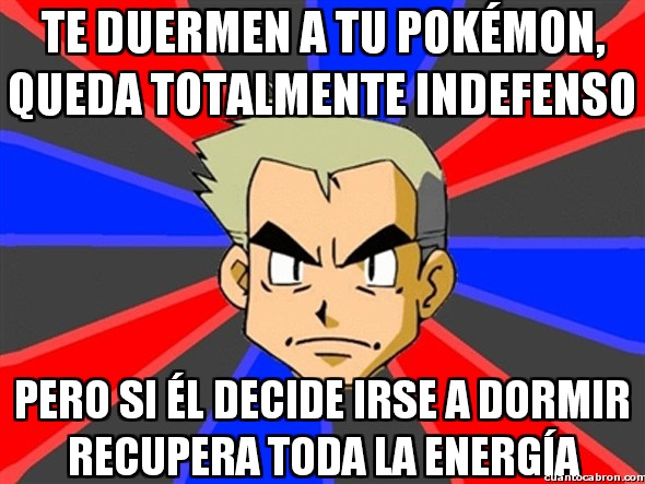 Profesor_oak - ¡A dormir, Pokémon!