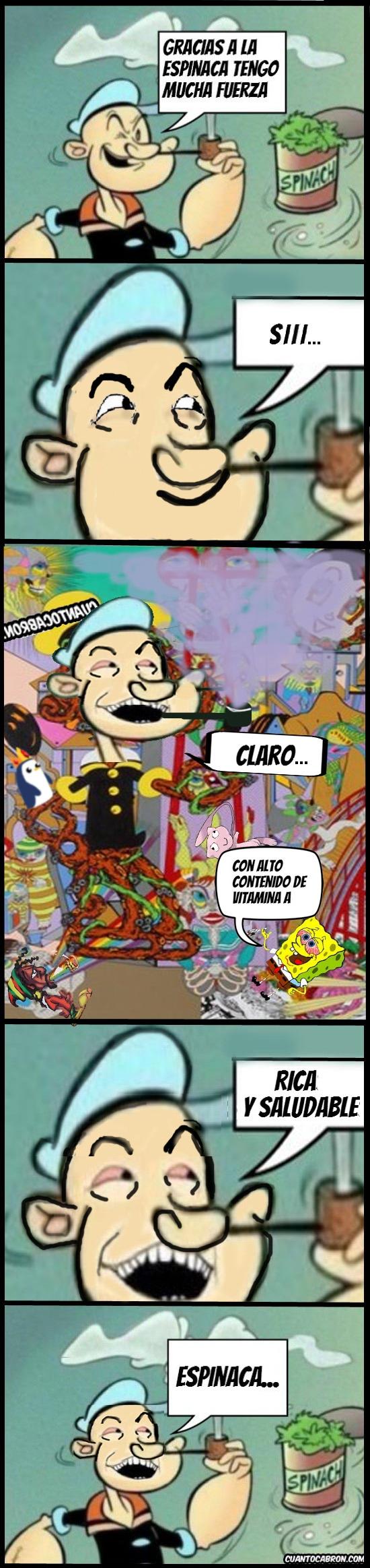 Si_claro - El Secreto de Popeye el Marino