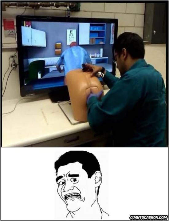 Yao - El simulador del examen rectal digital