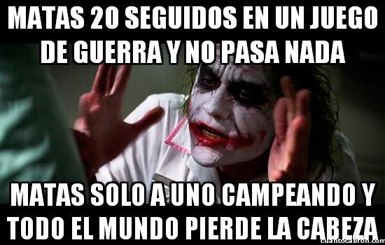 Joker - Campear es malo