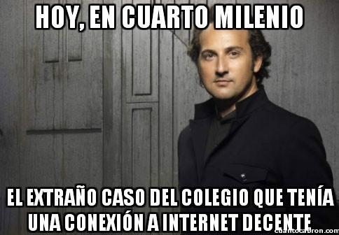 Cuarto_milenio - ¿Colegios con Internet decente?