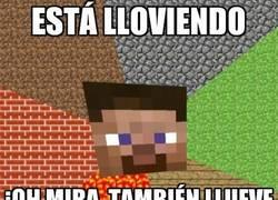 Enlace a Lluvia en Minecraft