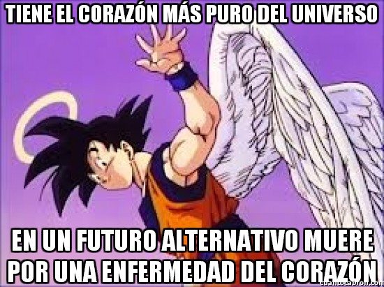 Meme_otros - Demasiada pureza, Goku