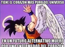 Enlace a Demasiada pureza, Goku