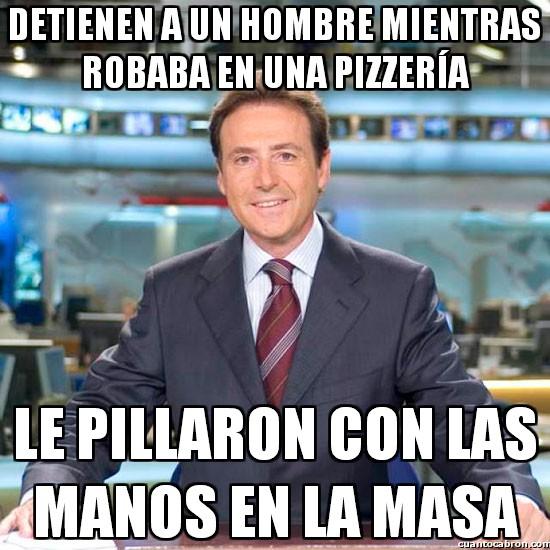 Meme_matias - El ladrón de pizzas