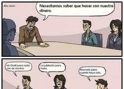 Enlace a La mentalidad de los españoles en época de bonanza