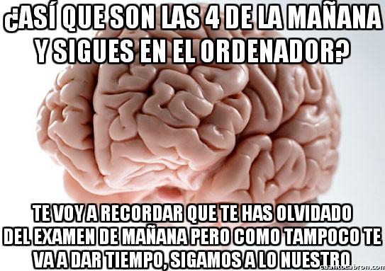 Cerebro_troll - Yo no soy irresponsable, es mi cerebro que no me da otra opción